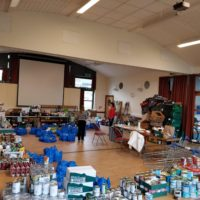 The New Forest food bank where SG Marketing's MD regularly volunteers